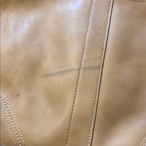 Coach Bags - Coach tan leather purse